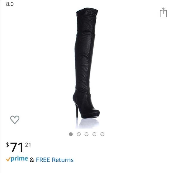 Thalia Sodi Shoes - Thigh High Beckie boots